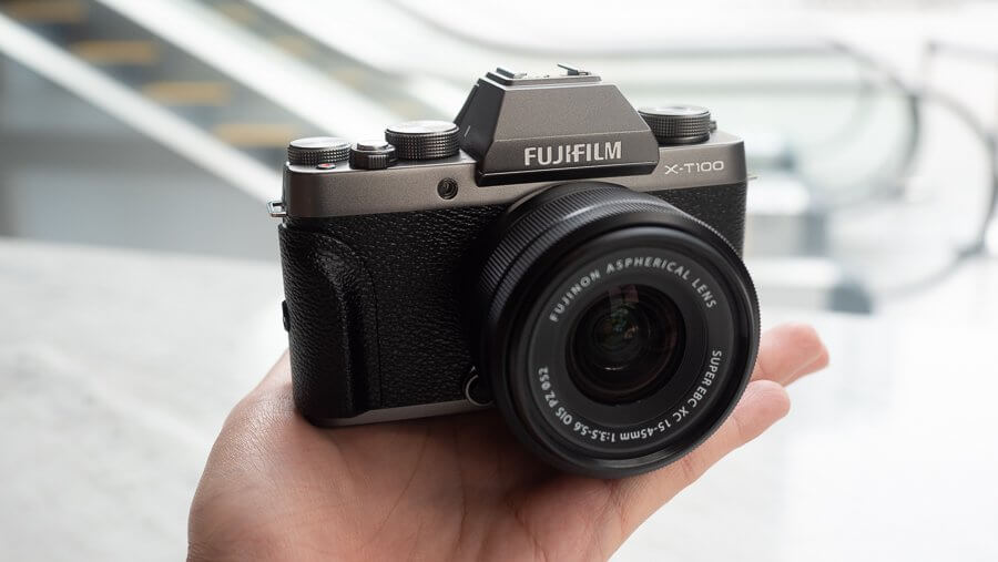 Review Fujifilm X T100 Product 6250072