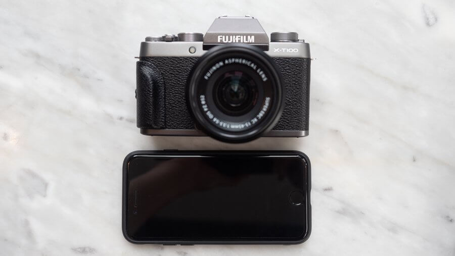 Review Fujifilm X T100 Product 6250076