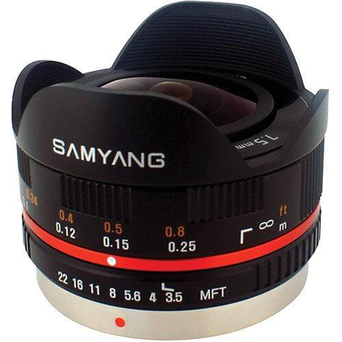 Samyang 7.5mm F3.5 UMC Fisheye for MFT Black ประกันศูนย์ 1