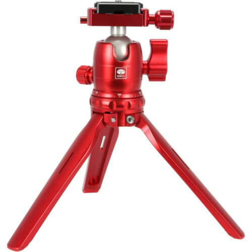 Sirui 3T 15R Table top tripod with B 00R Ball Head RED 1