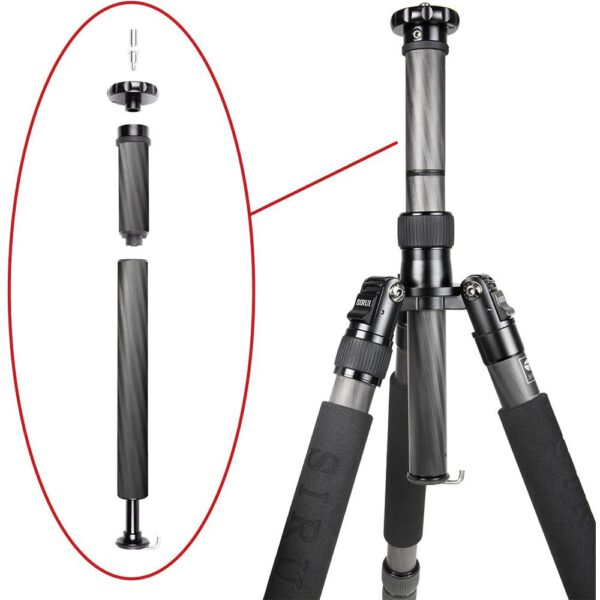 Sirui Carbon Fiber Tripod N 2204XG20KX Ball Head 8