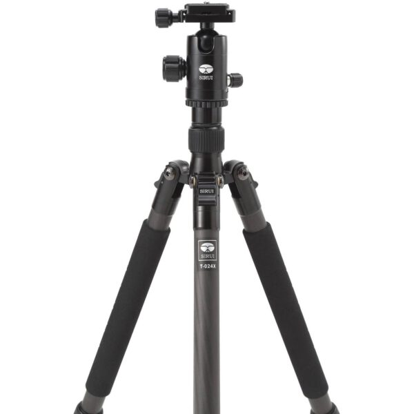 Sirui Carbon Fiber Tripod T 024XC10X with Ball Head 4 sections 6