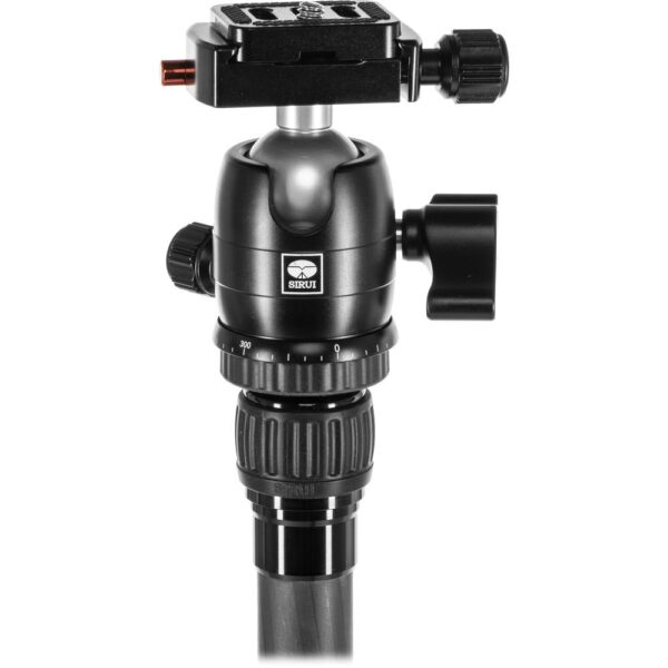 Sirui Carbon Fiber Tripod T 025SKB00K Ball Head Black 4