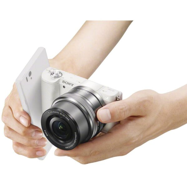 Sony Alpha A5100 Bundled 16 50mm White ประกันศูนย์18