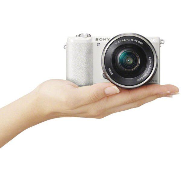 Sony Alpha A5100 Bundled 16 50mm White ประกันศูนย์19