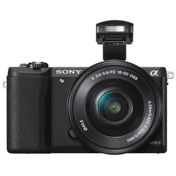 Sony Alpha a5100 Mirrorless Digital Camera with 16 50mm Lens Black 4