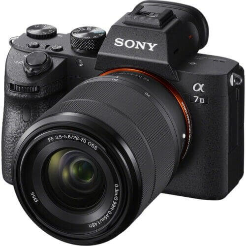 Sony Alpha a7 III Mirrorless Digital Camera with 28 70mm Lens 1