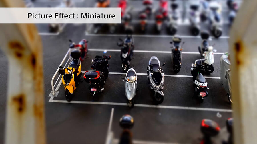 Sony-ZV1_Picture-Effect-Miniature