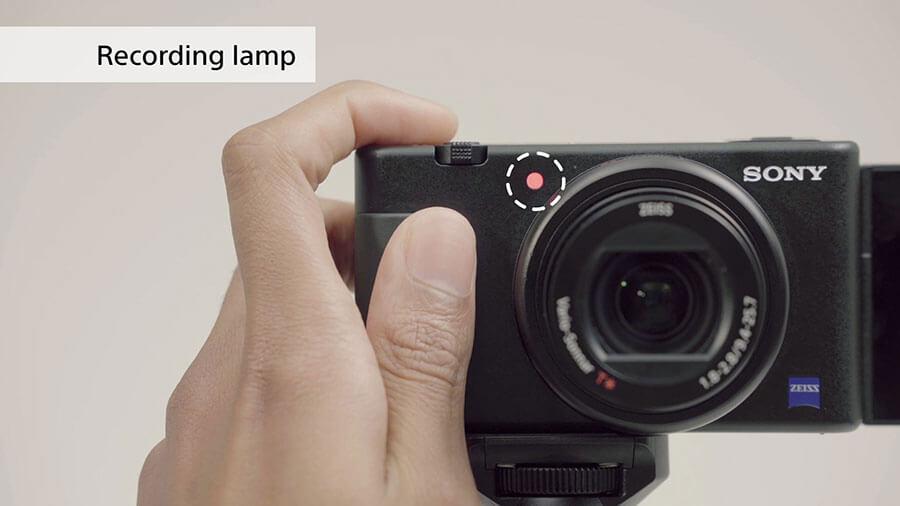 Sony-ZV1_Recording-Lamp