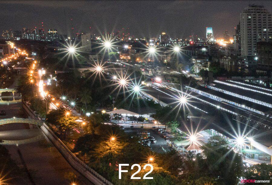 SonyFE 12 24mm F4G Star effect F22 copy