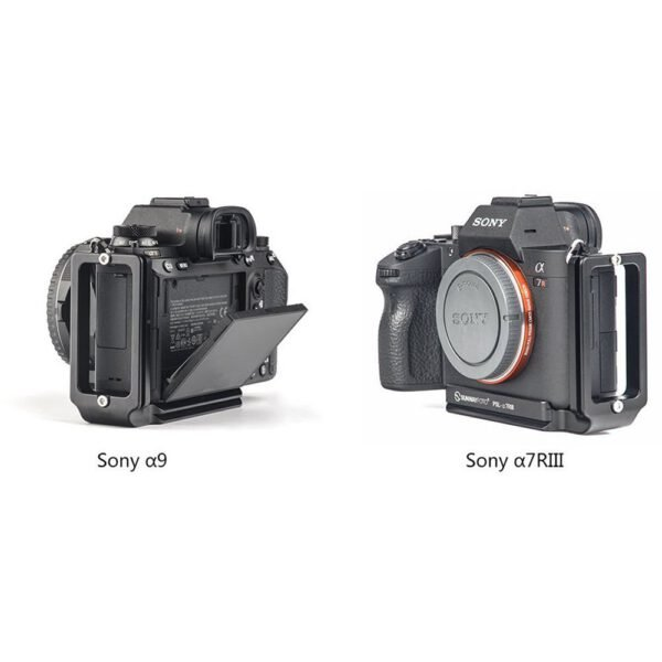 SunwayFoto Custom L Bracket for Sony a7RIII A9 5
