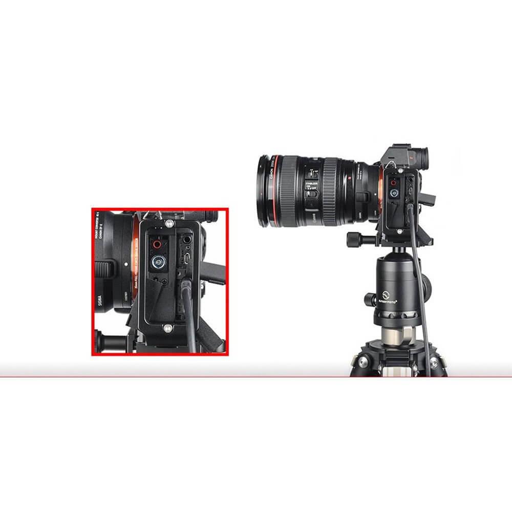 SunwayFoto Custom L Bracket for Sony a7RIII A9 7
