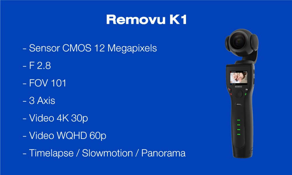 DJI Pocket vs Removu K1