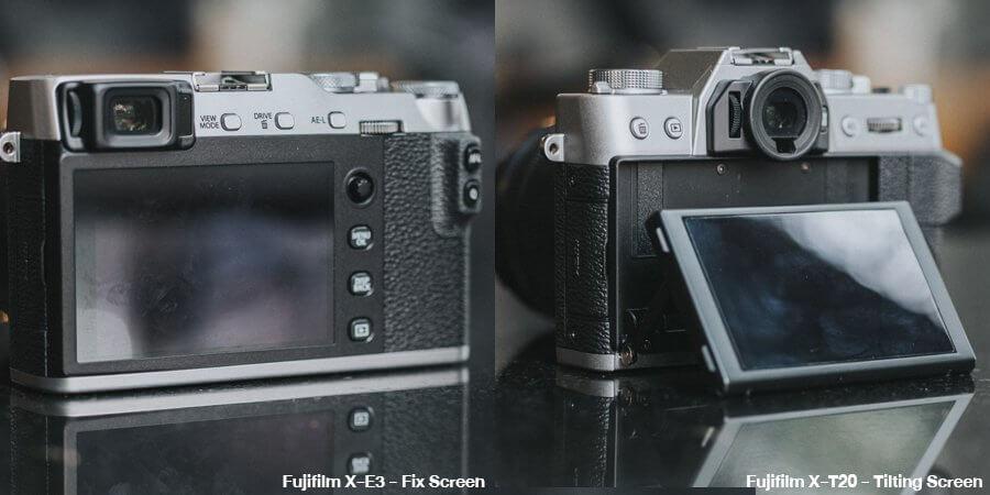 รีวิวเปรียบเทียบ Fujifilm X-E3 vs Fujifilm X-T20 รุ่นไหนดีกว่า