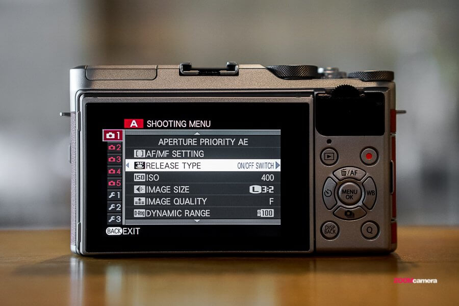 review handon fujifilm xa5 zoomcamera 201 2