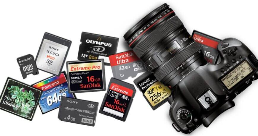 tips buyer guide memory card for video cinemapgraphy Zoomcamera content 10
