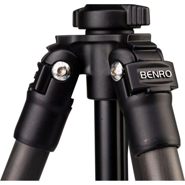 Benro Carbon Fiber Slim Tripod TSL08CN00 with Ball Head 6