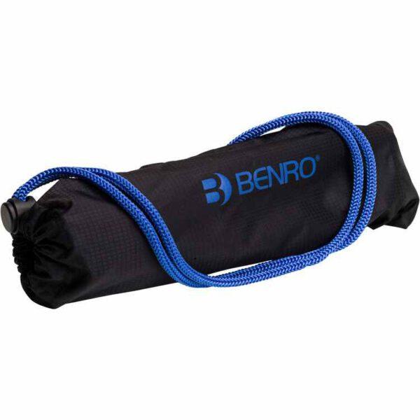 Benro FSL09AN00 Slim Twist Lock Aluminium Tripod Black 4