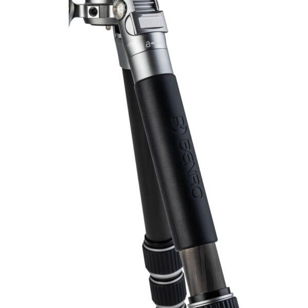 Benro FTR09AB00GBLK Tripster Series 0 Aluminum Tripod Kit Black 10 1