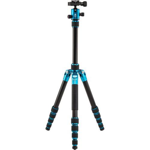 Benro FTR09AB00GBLU Tripster Series 0 Aluminum Tripod Kit Blue 1