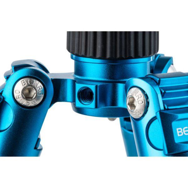 Benro FTR09AB00GBLU Tripster Series 0 Aluminum Tripod Kit Blue 12