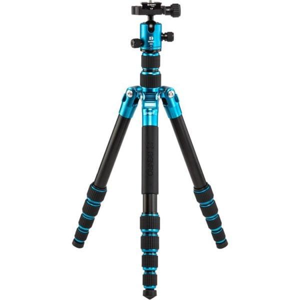 Benro FTR09AB00GBLU Tripster Series 0 Aluminum Tripod Kit Blue 6