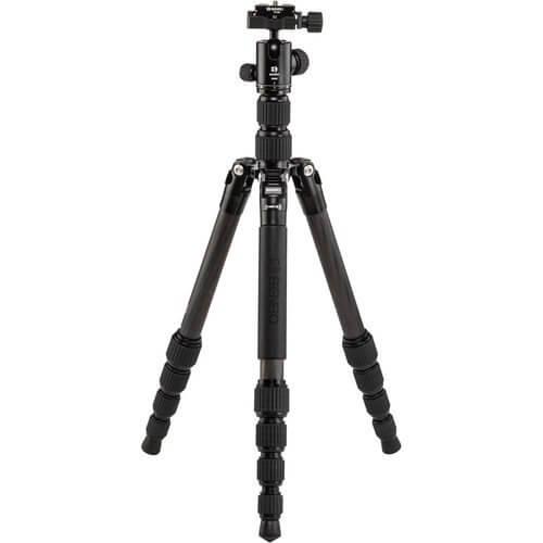 Benro FTR09CB00GBLK Tripster Series 0 Carbon Tripod Kit Black 8