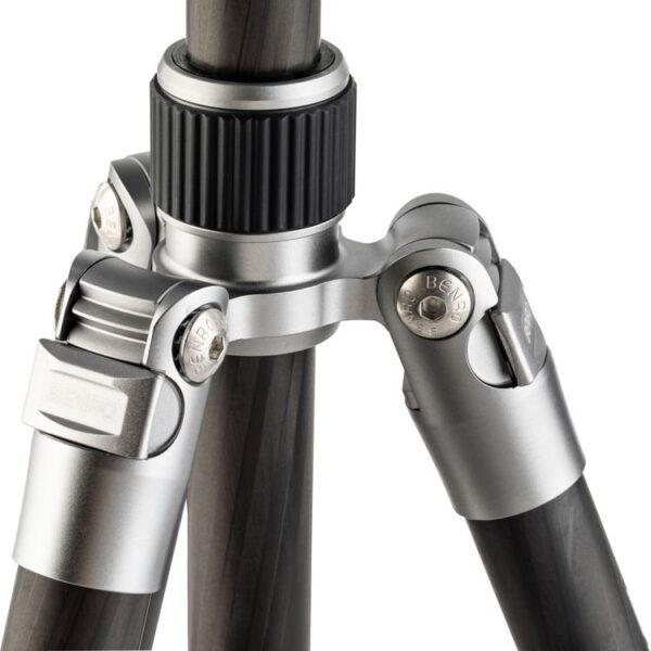Benro FTR09CB00GTTN Tripster Series 0 Carbon Tripod Kit Titanium 11