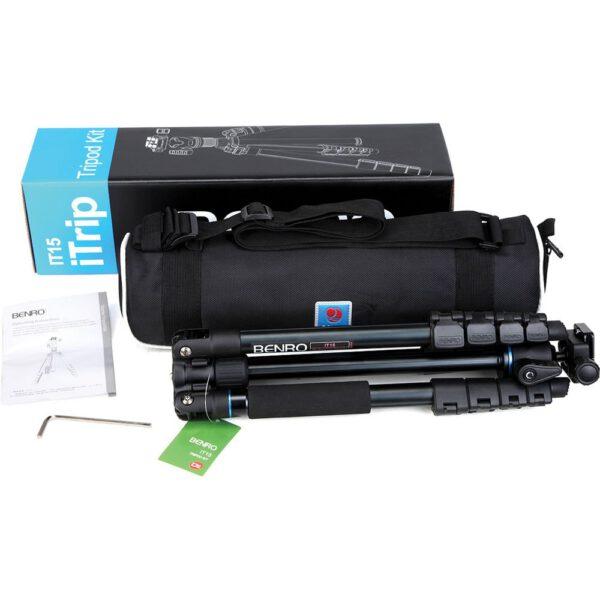 Benro Mg Aluminum Tripod EX Tripod Kit iTrip IT 15 2