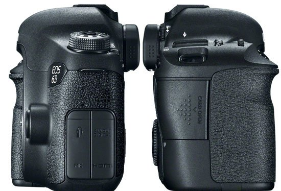 Canon EOS 6D Side