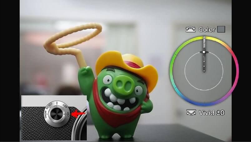 รีวิวฟังก์ชั่นแต่งโทนสีกับกล้อง Olympus PEN F