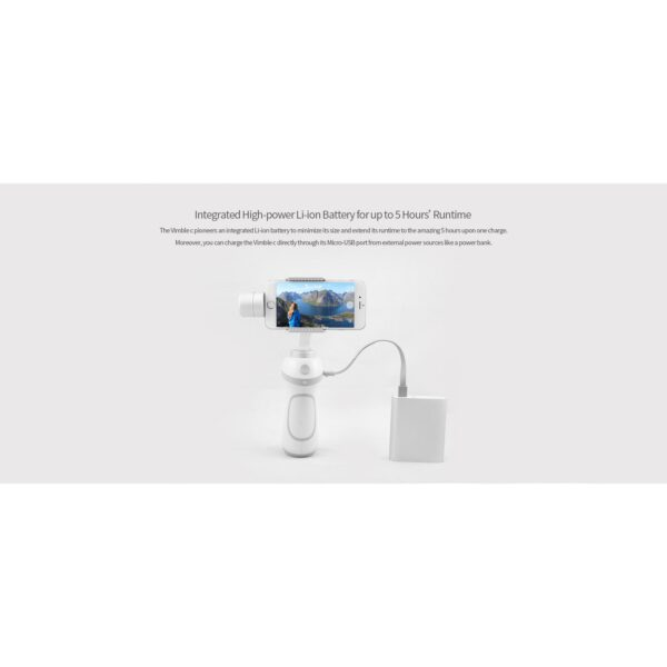 Feiyu Gimbal Vimbal C 3 Axis for Smartphone 9