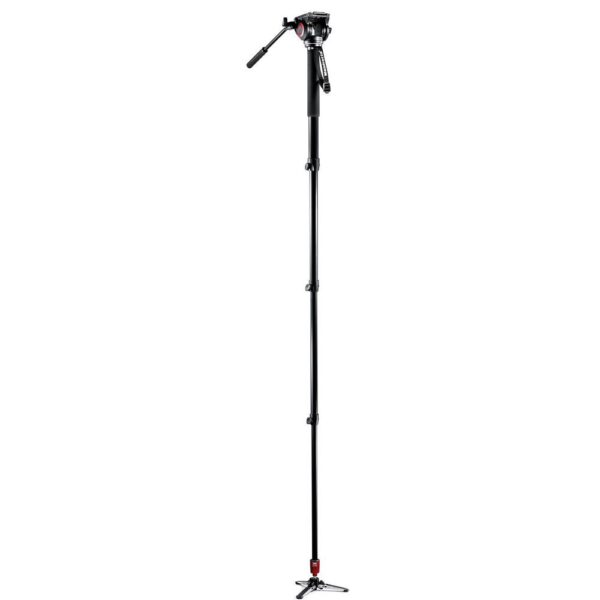 Manfrotto MVM500A Fluid Video Monopod With 500 Head 2