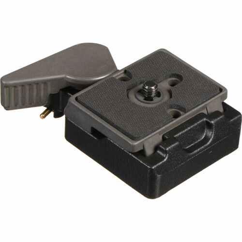 Manfrotto SKU 323 Quick Change Rectangular Plate Adapter 1