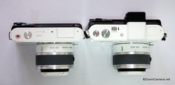 Nikon V1 J1 top