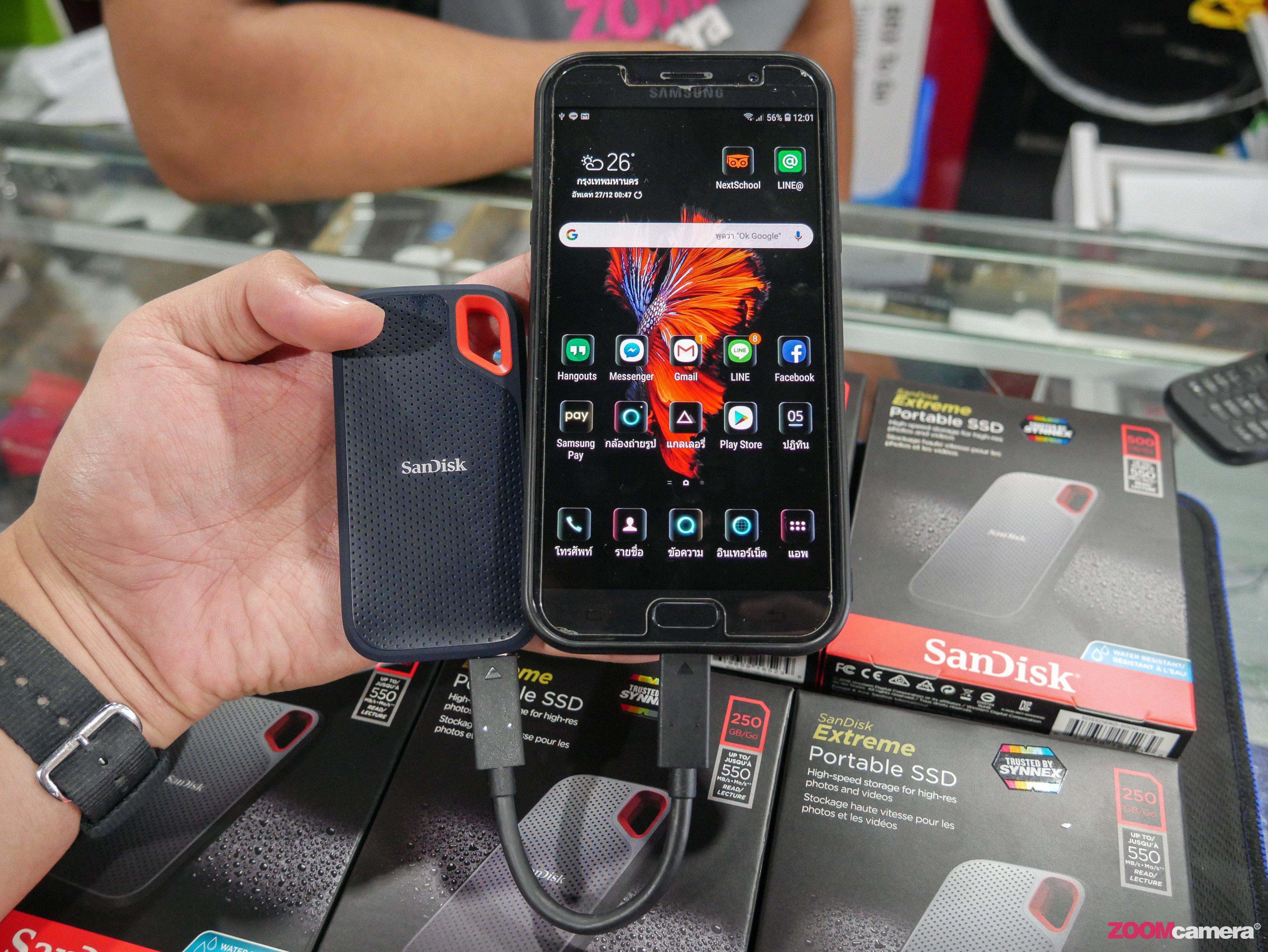 Hands On+ทดสอบ Sandisk Extreme Portable SSD ตัวใหม่ เร็ว แรง มั่นใจทุกการเดินทาง นักถ่ายภาพสายท่องเที่ยวต้องโดน