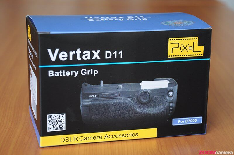 Pixel Vertax Grip for D7000 Image 1 1