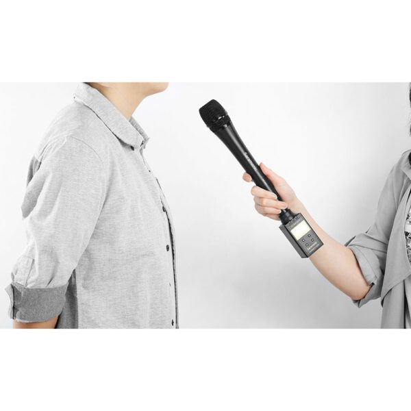 Saramonic SR HM7 Dynamic Cardioid XLR Handheld Microphone for Interviews 4