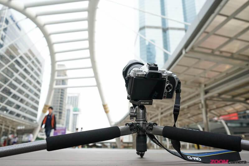 รีวิวขาตั้งกล้อง Slik Sprint Pro II GM สูงและเบามาก ท่ายากก็เยอะ