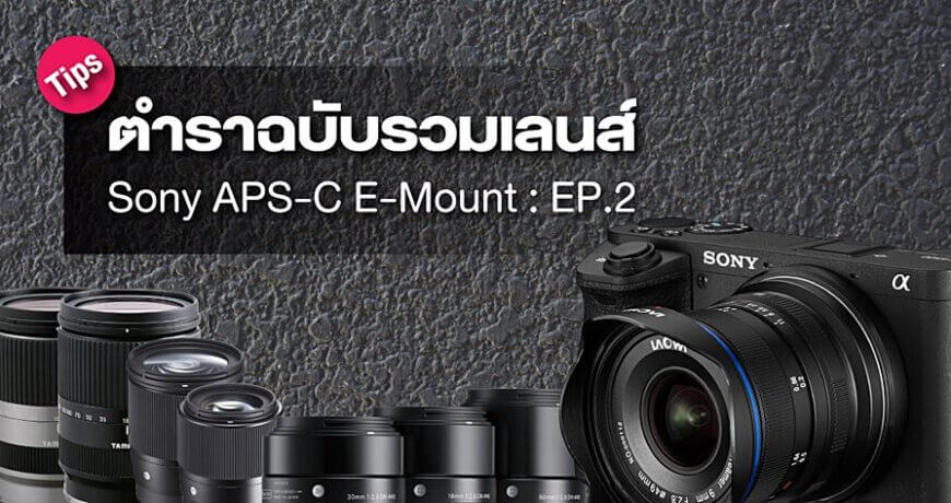 basic guide all lens sony apsc e mount zoomcamera content 2