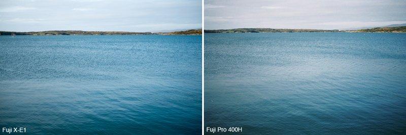 เปรียบเทียบ Film vs. Digital (Fuji X-E1 vs. Fujifilm Pro 400H)