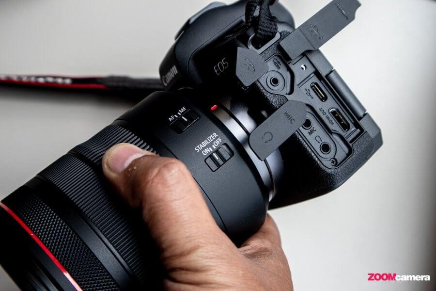 Canon HDMI Port