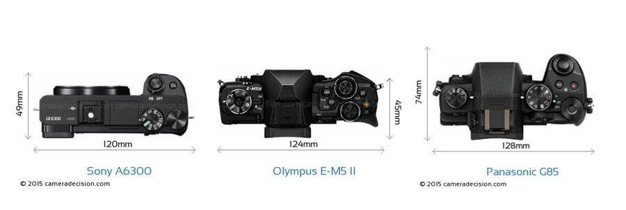 Panasonic G85 Vs Olympus EM5 II Vs Sony A6300 021