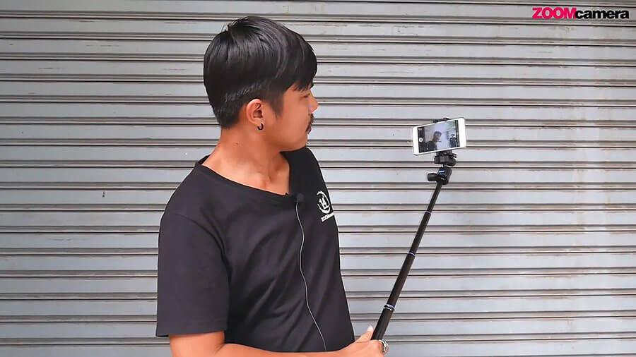รีวิว ขาตั้งกล้อง Benro IS05 iSmart Tripod Kit เล็ก เบา เป็นไม้เซลฟี่ได้