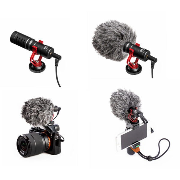 BOYA BY-MM1 Mini Cardioid Condenser Microphone