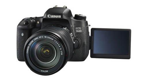 Canon Canon EOS 760D DSLR camera