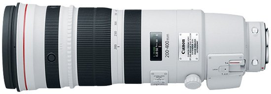 Canon EF 200 400 f4L IS lens