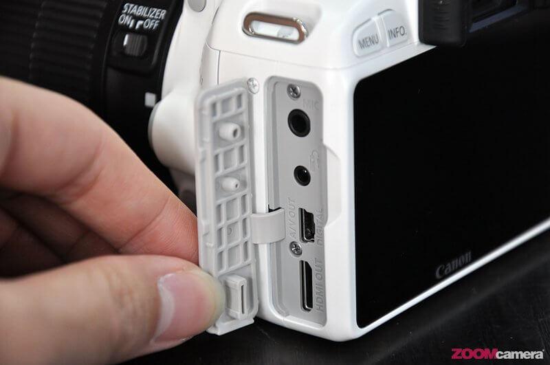 Canon EOS 100D White 10
