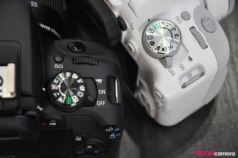 Canon EOS KissX7 White 22