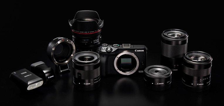Canon mirrorless camera system